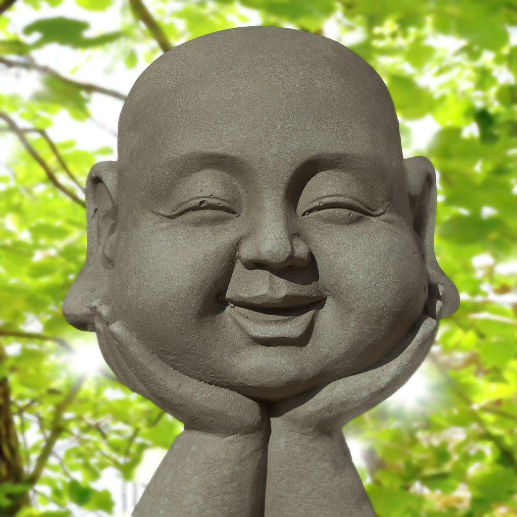 Glücklicher Buddha