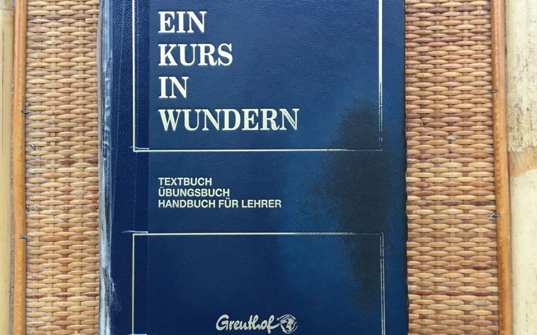Ein Kurs in Wundern Buch Greuthof Verlag